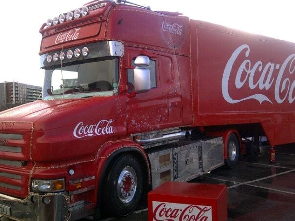 Coca Cola truck Sims Life