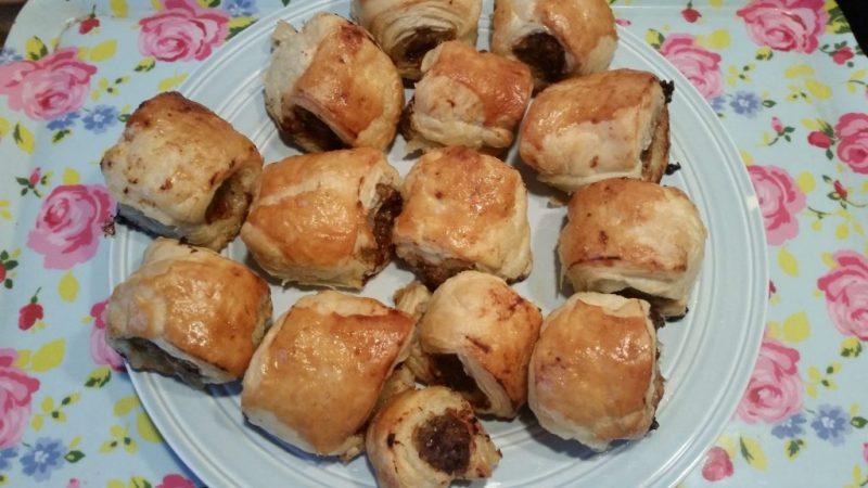 Homemade Sausage rolls... pre-diet!