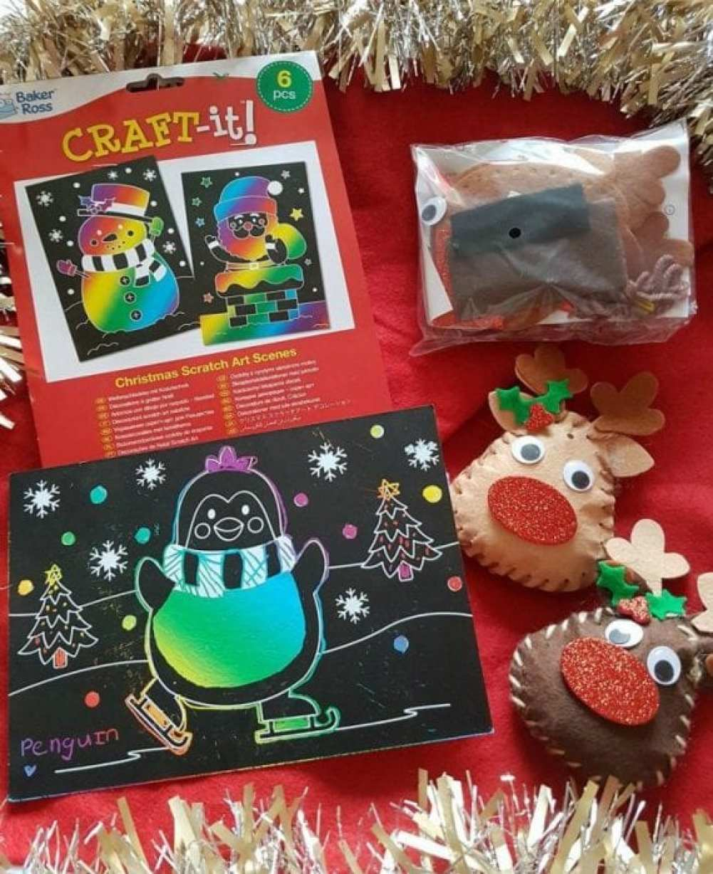 baker ross christmas crafting kits - Ross Christmas Decorations