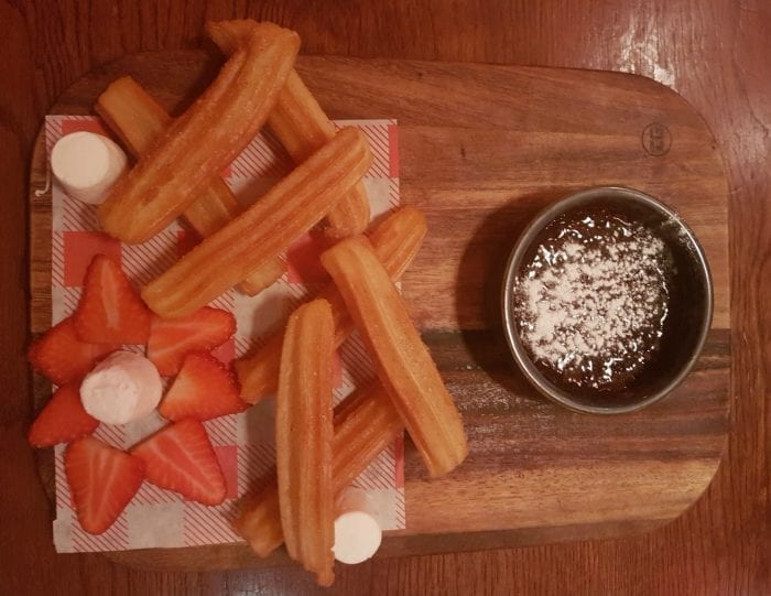 Churros at La Tasca