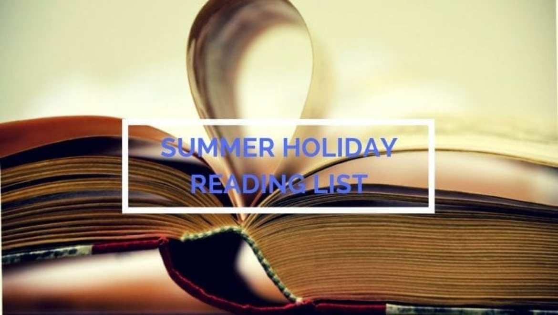 Summer Holiday reading list
