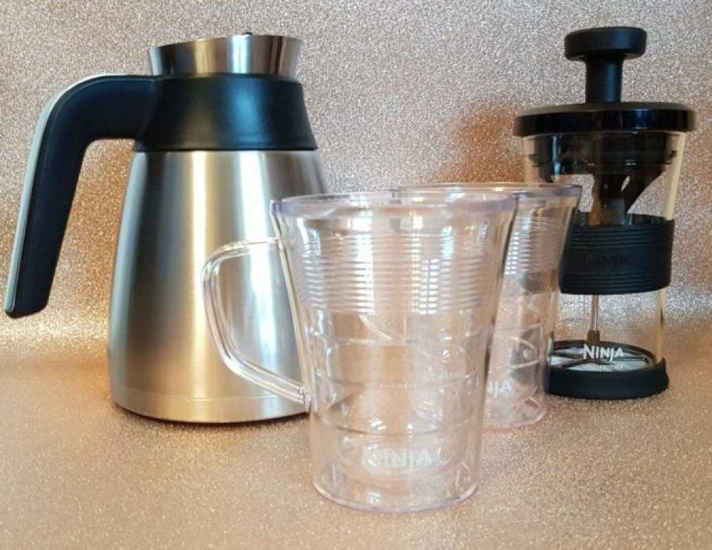 Ninja Coffee Bar review accessories