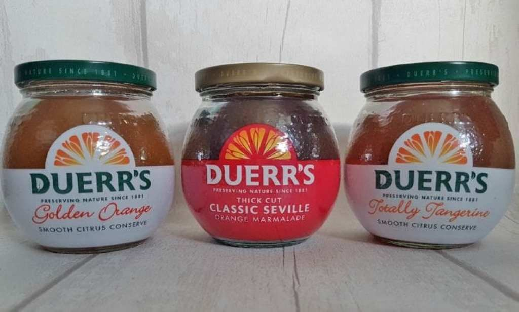 Duerr's Marmalade Jars