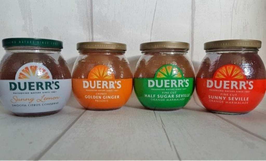 Duerr's Marmalade Selection