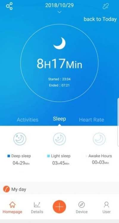 Proze Fitness Tracker Sleep