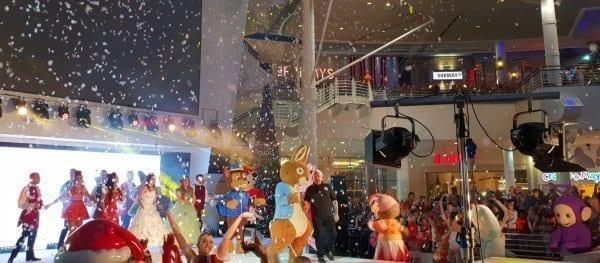 Trafford Centre Christmas Parade end