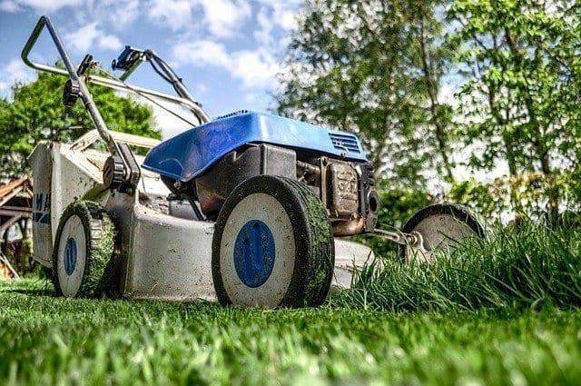 retirement mow lawn