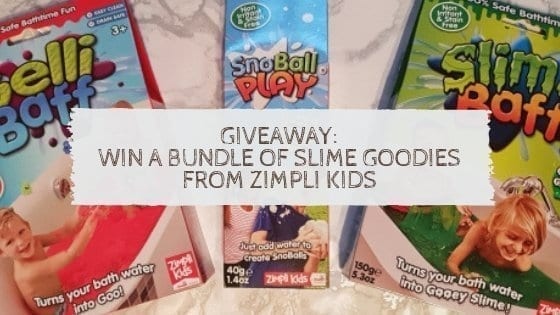 Giveaway: Win A Bundle Of Slime Goodies From Zimpli Kids