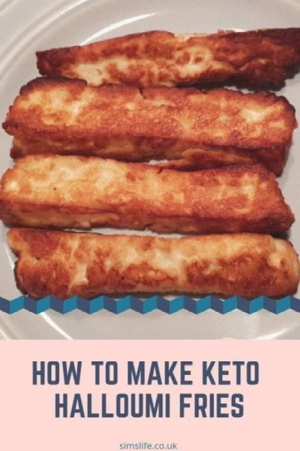 How To Make Keto Halloumi Fries