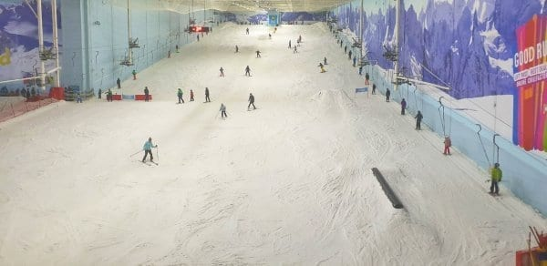 Chill Factore main slope