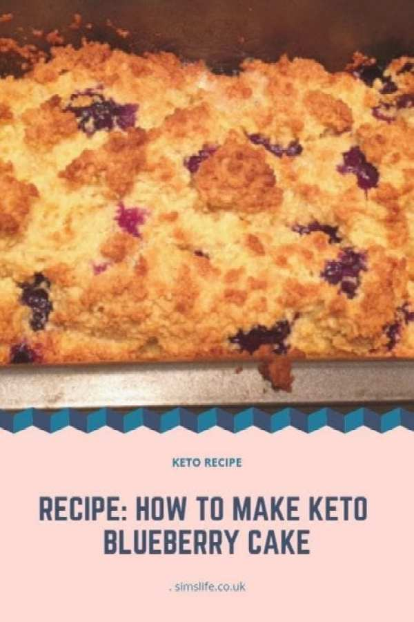 Recipe: How To Make Keto Blueberry Cake