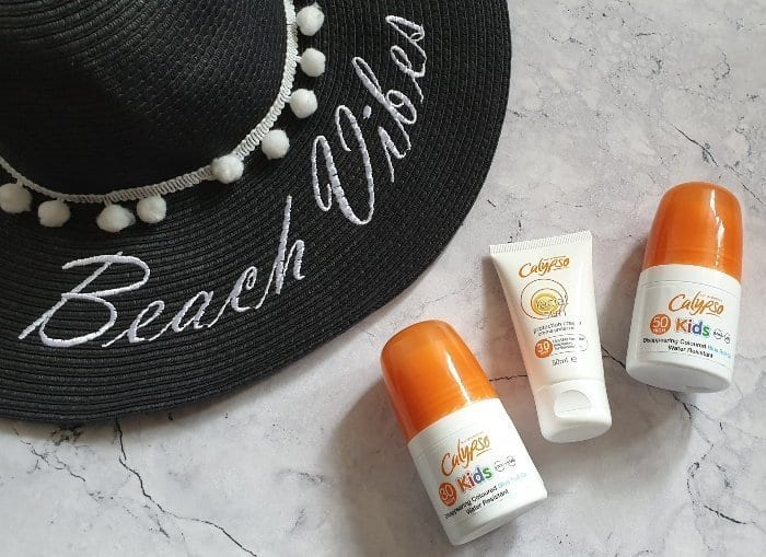 Suncream ideal for cabin baggage