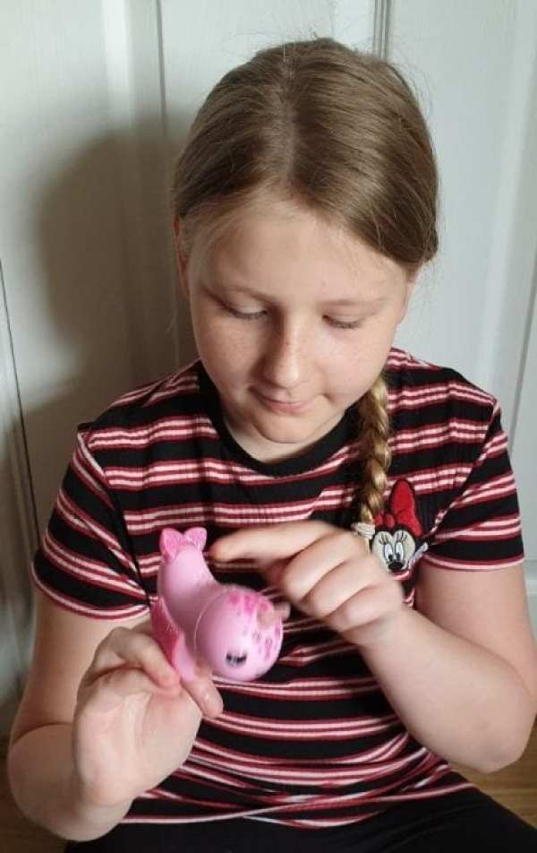 Win a Fingerlings Narwhal