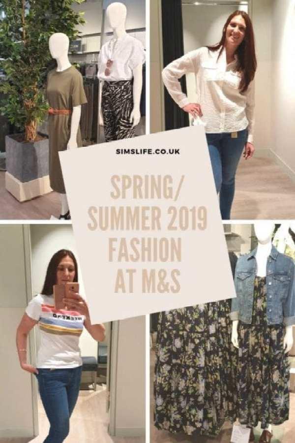 M&S Spring Summer fashion