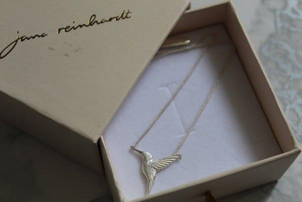jana reinhardt hummingbird necklace