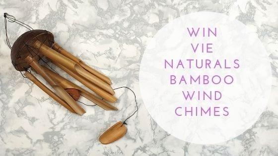 Vie Naturals Bamboo Wind chimes