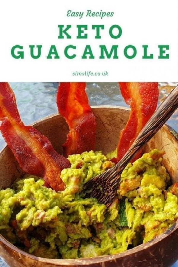 easy to make keto guacamole