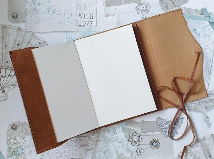 Amalfi Leather Journal