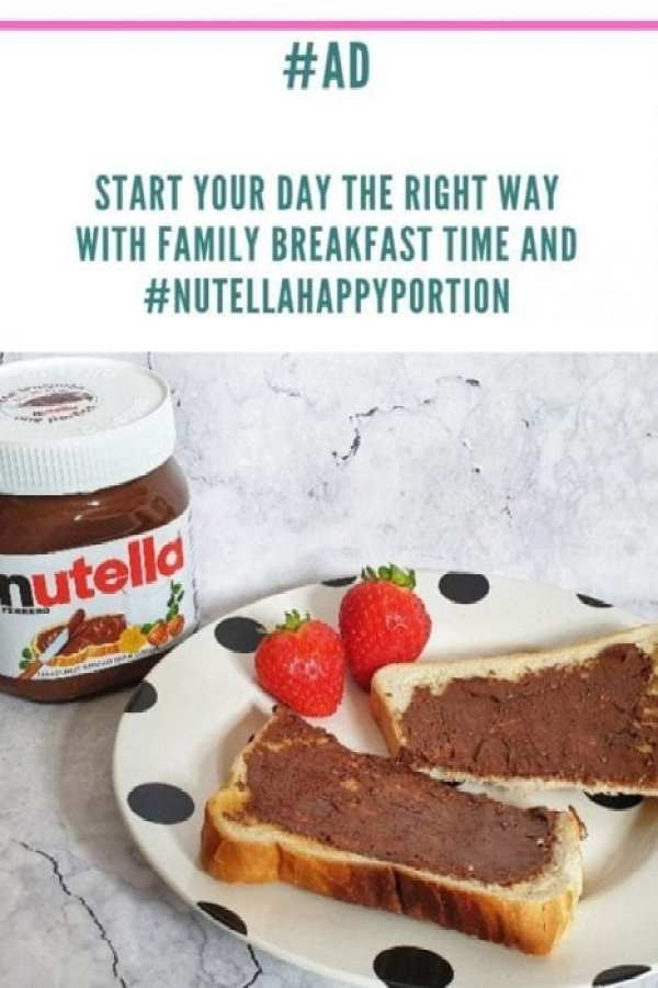 breakfast time with nutella