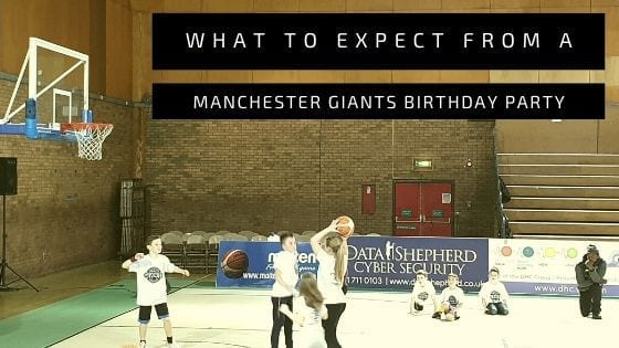 Manchester Giants Birthday Party