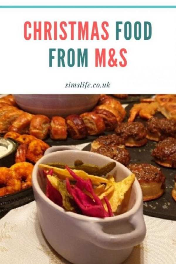Christmas Party Food from Marks and Spencer