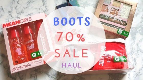 Boots 70% Sale Haul 2020