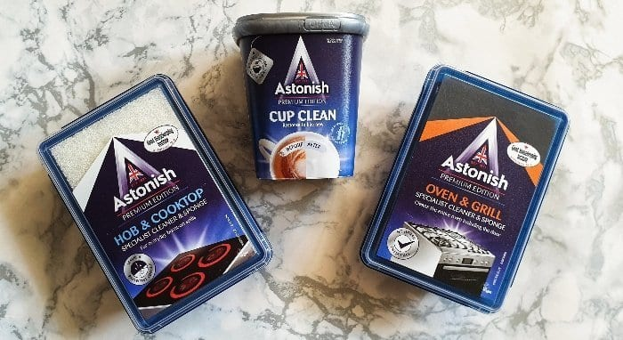 New Astonish Cleaning range