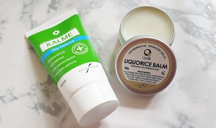 Kalme Day Defence and Lip Q Balm