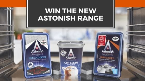 Win the new Astonish range of cleaning products
