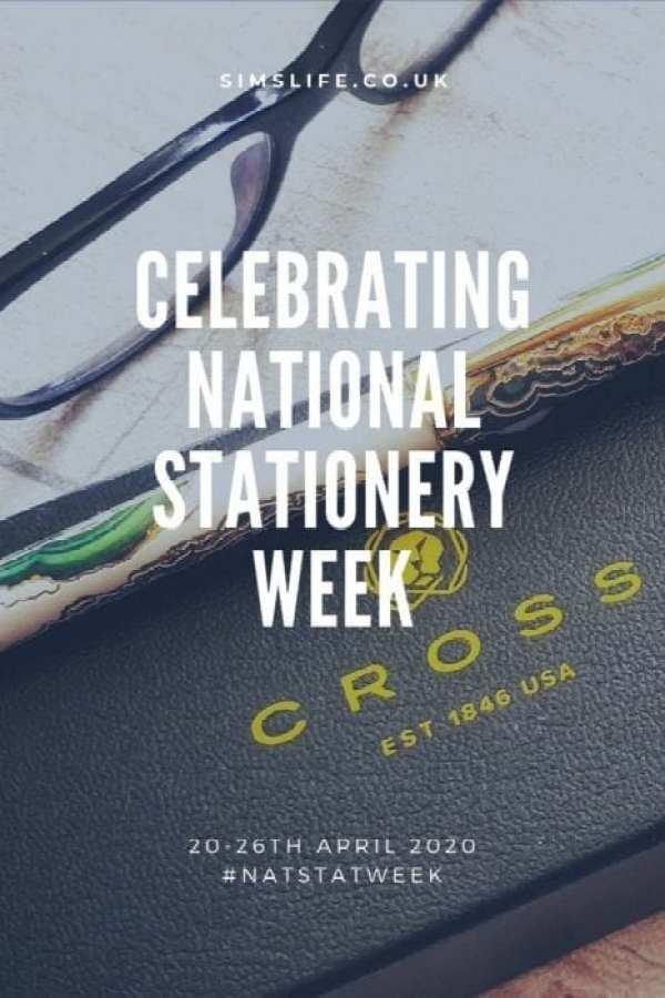 Celebrating National Stationery Week April 2020