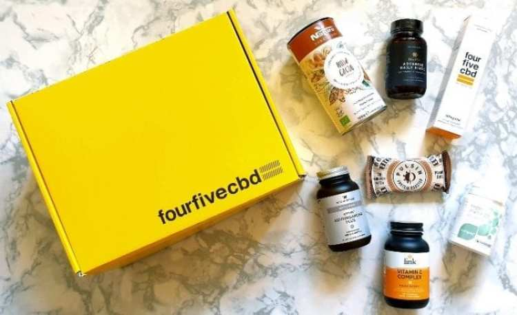The Immunity Box from FourFiveCBD