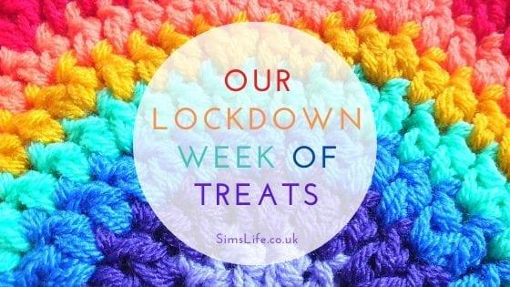 Lockdown Week of Treats Crochet Rainbow