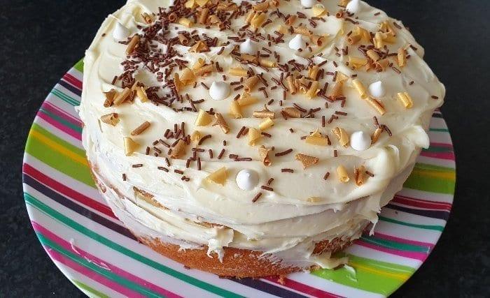 Yummy lockdown cake