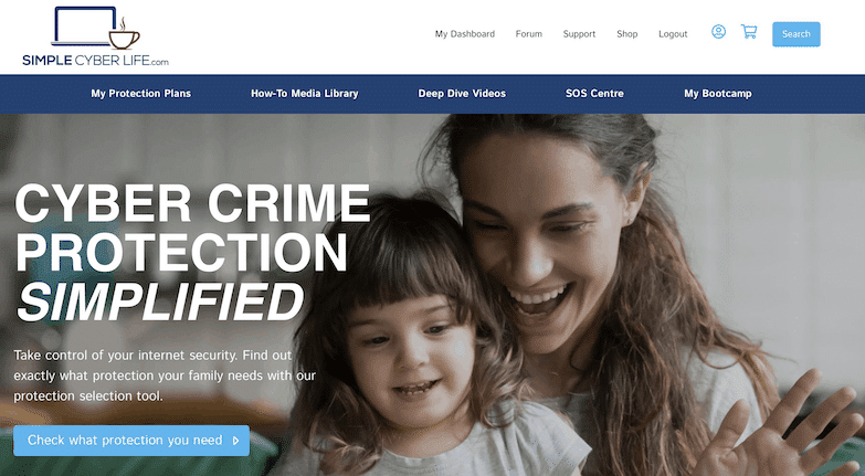 Protecting Families Online with SimpleCyberLife