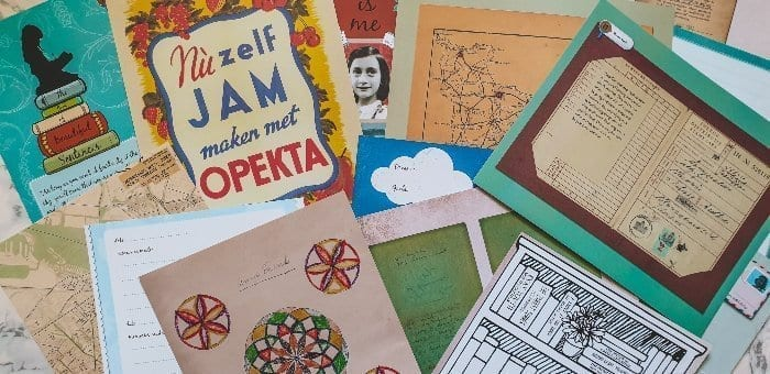 The Life of Anne Frank worksheets