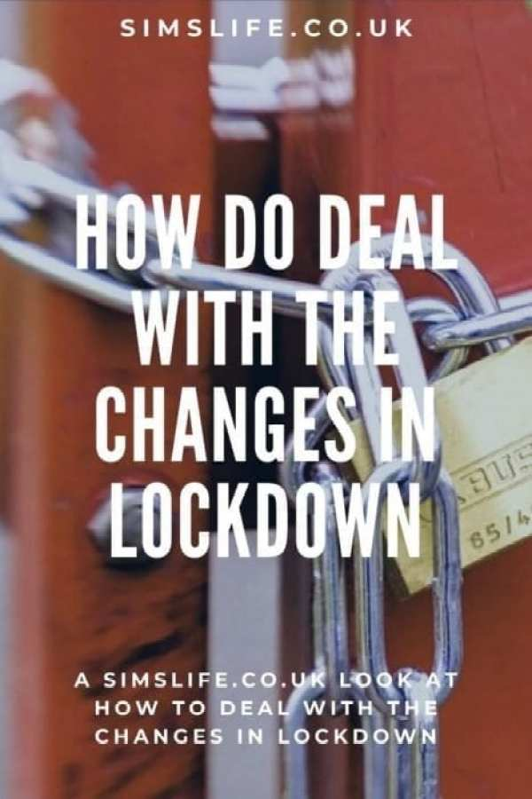 How to deal with the changes in lockdown Pinterest