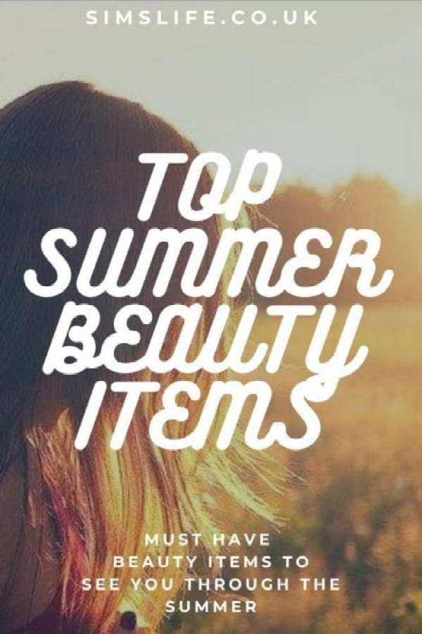 Top Summer Beauty Items Pinterest