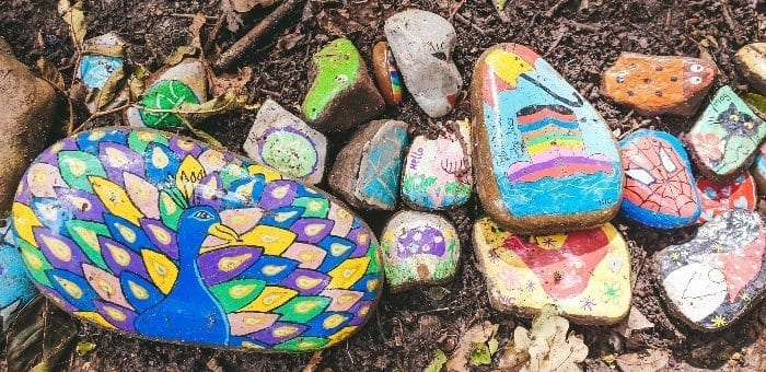 Totty Snake Painted Rocks