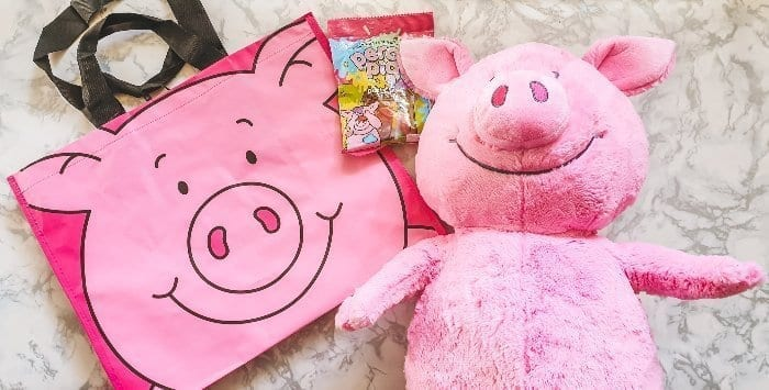 M&S Percy Pig Toy