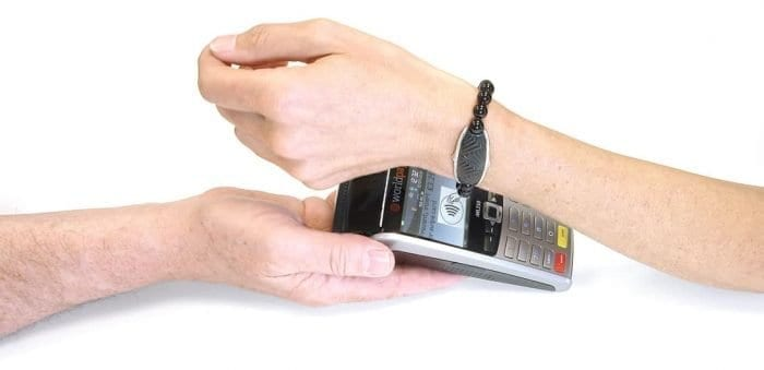 K-pay contactless payment with bracelet