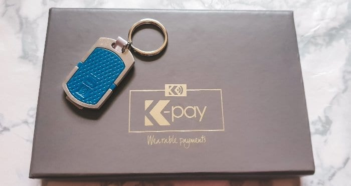 K-pay contactless payment keyring
