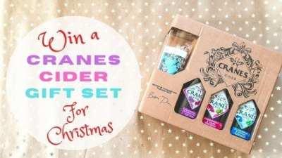 Win a Cranes Cider Gift Set