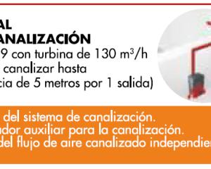 estufa de pellets boreal-9 kit canalización