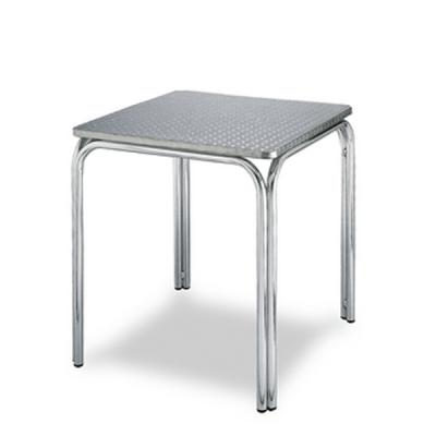 mesa aluminio para terraza exterior hostelería M382