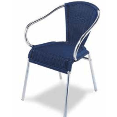 silla para terraza M281 azul