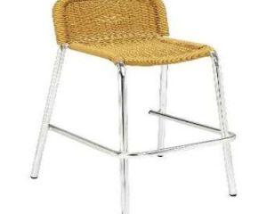 taburete alto para terraza m573 aluminio mobiliario hosteleria barato en vigo