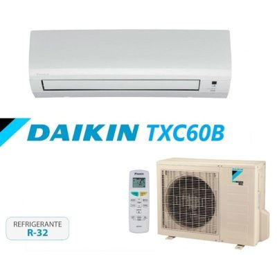 daikin sensira txc60b conjunto aire acondicionado split de pared