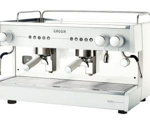 Cafeteras industriales Gaggia Vetro 2 brazos