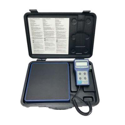 Báscula electrónica para carga de refrigerante Wigam PRATIKA 100-05 hasta 100 kg