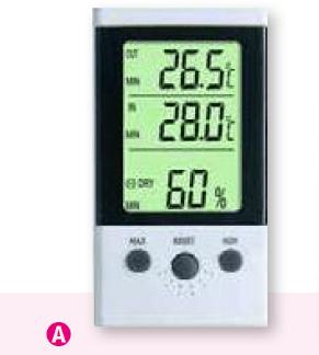 Termohigrómetro digital DTH-11
